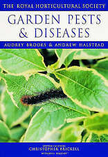Garden Pests and Diseases by Royal Horticultural Society, Audrey Brooks, (NF14)