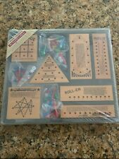 New Sealed Package / Set of 7 Wood Teasers Puzzle Games The Woodfield Collection