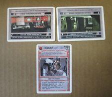 Star Wars CCG Rare Run Luke Run!, Death Star L6 Core Shaft/Dock Control Rm -Mint