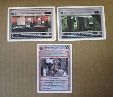 Star Wars CCG Rare Run Luke Run!, Death Star L6 Core Shaft/Dock Control Rm -Mint