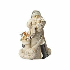 Foundations Santa and Baby Jesus Polyresin Christmas 6001153
