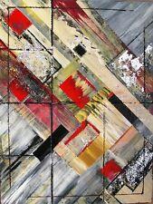 Abstrakte originale künstlerische Malerei mit Acryl-Technik direkt vom Künstler