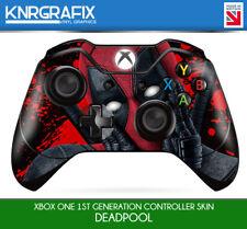 KNR9654 DEADPOOL 2 FACE PREMIUM XBOX ONE CONTROLLER SKIN STICKER