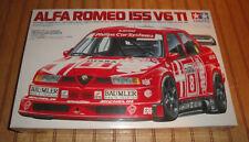 Tamiya 1:24 Alfa Romeo 155 V6 TI Plastic Kit 24137 New Old Stock Sealed