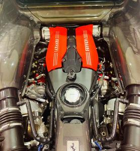 Ferrari 488 Carbon Fibre Engine Bay