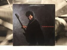 JOAN ARMATRADING - SLEIGHT OF HAND LP VG+/VG+ GERMANY 1986 A&M 395130-1