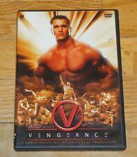 2004 WWF WWE Vengeance Wrestling DVD Triple H Chris Benoit Jericho Matt Hardy