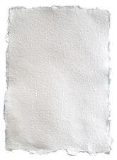 Büttenpapier  handgeschöpftes Papier, Strukturpapier mit Büttenrand