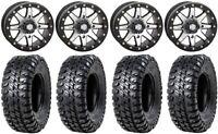 "STI HD9 14"" Beadlock Wheels MH 31"" Chicane RX Tires Kawasaki Mule Pro FXT"