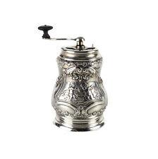J. Kruz & Co Imported Sterling Silver Handled Pepper Mill Grinder, 1848