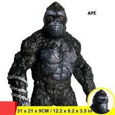 Huge Ape Warrior Chimpanzee Figure Wild Animal Toys Collector Gorilla Kids Gift