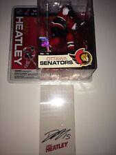 DANY HEATLEY Ottawa Senators Autographed Signed McFarlane Figure Hockey COA NHL