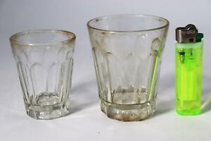 Japanese Antique Korikopp glass cup Handmade Meiji Taisho kiriko satsuma GO08