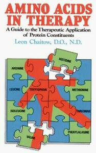 Amino Acids in Therapy: A Guide to the Therapeutic Application of