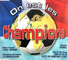 Compilation Maxi CD On Est Les Champions - France (EX/EX)