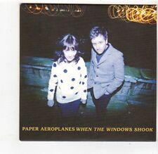 (FQ162) Paper Aeroplanes, When The Windows Shook - 2013 DJ CD