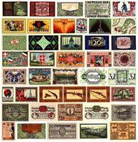 30 DIFF CRISP NOTGELD NOTES 1918-22 @ 99c!! BEST PRICE BEST VARIETY Read History
