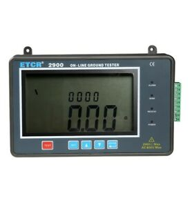 Contact Type Online Earth Resistance Tester Grounding Voltage Tester Meter RS485