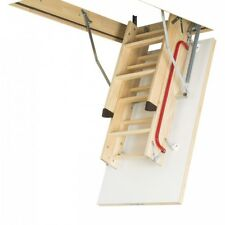 FAKRO 60x120 Wood Timber Loft Ladder 3-Section / Thermo Hatch