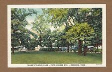 Memphis,TN Tennessee, Leary's Trailer Park 3070 Summer Ave. circa 1949