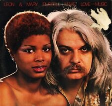 LEON AND MARY RUSSELL make love to the music PAK 3066 and usa 1977 LP PS EX/VG-