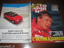 AUTOSPRINT 1987/35=DIDIER PIRONI L'ULTIMA CORSA=RALLY 1000 LAGHI PROFETI=