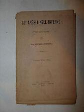 Dante Divina Commedia, Federzoni: Angeli nell'Inferno 1897 Rocca San Casciano