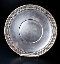 """Frank M. Whiting Talisman Rose """"494"""" Sterling Silver Plate"""