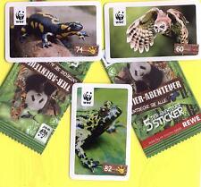 Rewe WWF TIERABENTEUER ***40 Sticker AUSSUCHEN aus fast allen 180***
