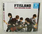 F.T Island FTIsland Japanese Album FIVE TREASURE ISLAND Taiwan Ltd CD+DVD Ver.B