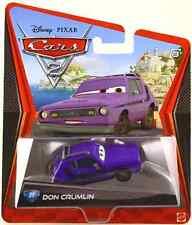 DISNEY PIXAR CARS 2 DON CRUMLIN