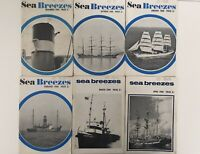 Sea Breezes Magazine of Ships & the Sea - 6 issues from 1964 - 1965 - 1966   (2)