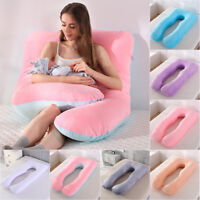 Oversized U-Shape Pregnancy Pillow Full Body Support Maternity Pillow or Cover