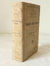 PRECIS de Préparation Militaire Superieur GENIE Tome 2 'BERGER-LEVRAULT' 1939
