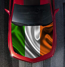 H60 IRISH FLAG Hood Wrap Wraps Decal Sticker Tint Vinyl Image Graphic