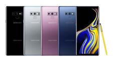 """Samsung Galaxy Note 9 Unlocked N960U 128/512GB 6.4"""" S-Pen 6GB Ram 4G MINT OB"""