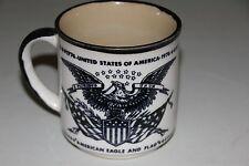 New listing Usa Bicentennial American Eagle and Flag / Washington Crossing Delaware Mug