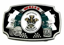 Wales Belt Buckle Land Of The Free Cymru Flag Welsh Patriotic Authentic Product
