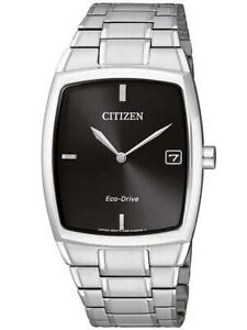 AU1070-82E,CITIZEN Eco-Drive Watch,270 Day Power Reserve,St/Steel,WR,Date,Mens