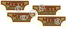 Mamod Decals Logos  x 4. Mamod Spares and Parts.