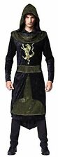Men's Medieval Prince Fancy Dress Costume Sheriff of Nottingham Outfit Ac511