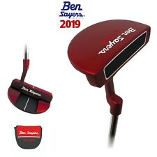 """Ben Sayers 2019 XF Spider Red Inspired NB6 34"""" Golf Putter"""