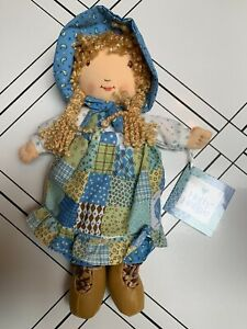 """HOLLY HOBBIE 12"""" RAG DOLL AMERICAN GREETINGS 2007 Learning Curve New With Tags"""