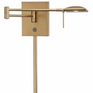 George Kovacs P4328-248 George's Reading Room 1-Light LED Wall Sconce Honey Gold