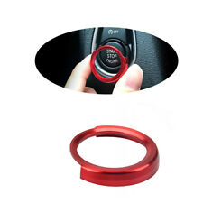 Red Button Start Decorative Circle Trim For BMW 3Series F30 325i 335i 340i 12-17