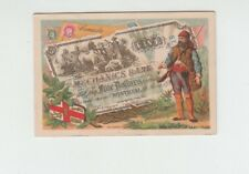[65978] VINTAGE TRADE CARD by J. BOGNARD (CANADA) CURRENCY SERIES