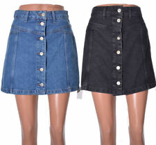Topshop Patternless A-line Regular Size Skirts for Women