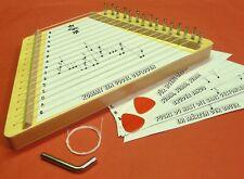 Kinder MUSI-SUSI Holz Zupfinstrument Zitter mit Lieder-Vorlagen           411-11