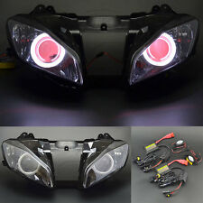 New Demon Angel Eye Headlight Assembly Projector Lamp for Yamaha YZF R6 08-15