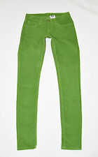 "Green Organic Cotton MONKEE GENES Slim Skinny Long Trousers Jeans Size W28"" L31"""